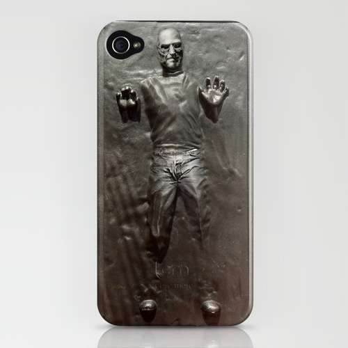 Steven Jobs in Carbonite iPhone Case