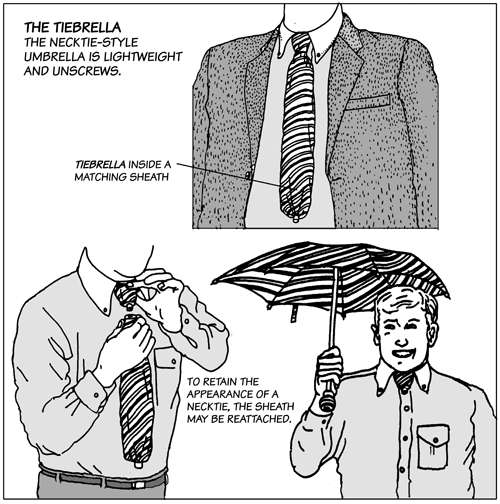 Camouflaged Umbrellas