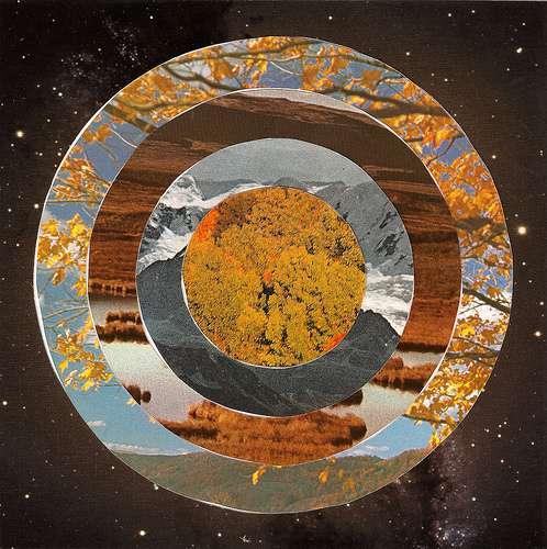Scenic Bullseye Collages