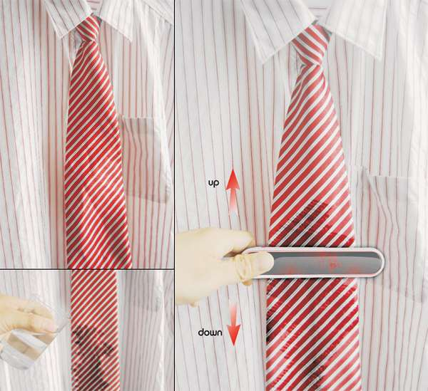 Portable Necktie Presses