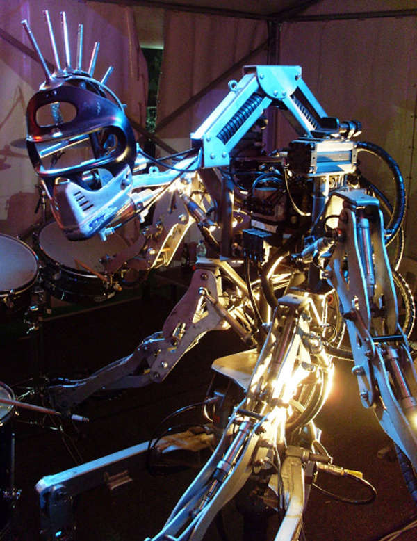 Electro-Rocking Rhythm Robots