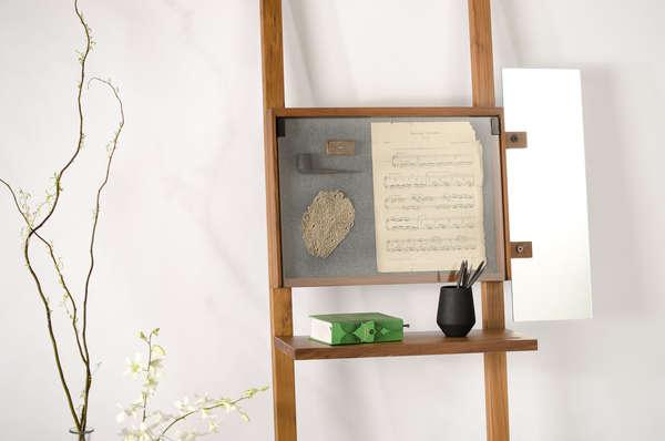 Ladder-Like Curiosity Cabinets