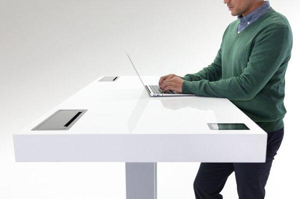 Strategically-Adjusting Standing Desks
