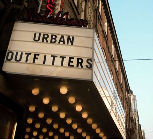 Movie Theater Retail : stockholm urban outfitters