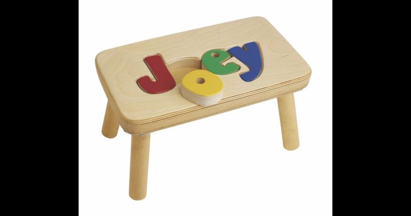 Personalized Puzzle Stools Stools For Kids