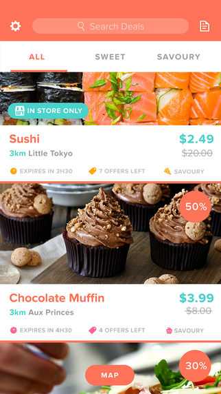 Food-Rescuing Apps