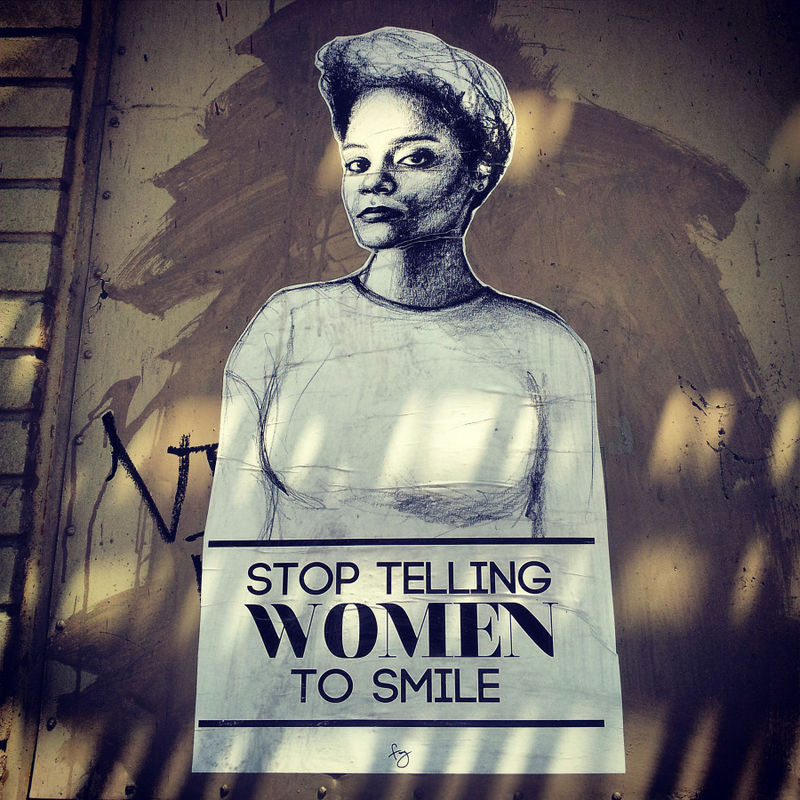 Female-Empowering Street Art