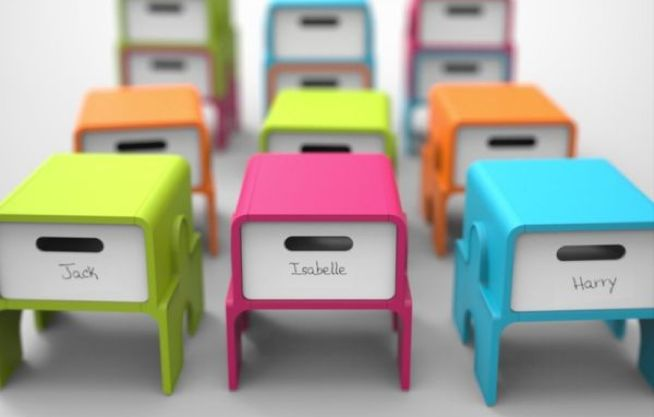 Stackable Storage Stools