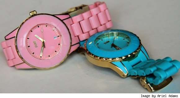 Pretty Pastel Timepieces