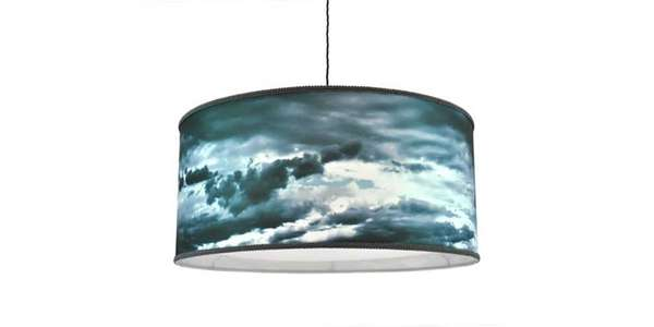 Poetically Stormy Lampshades