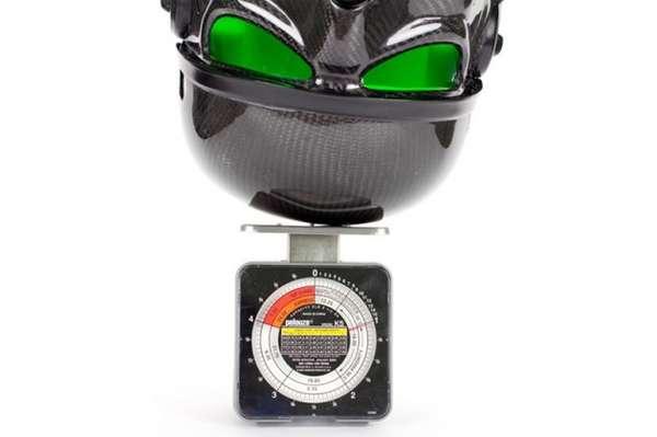 Sci-Fi Fiber Helmets