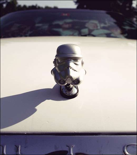 Stormtrooper Hood Ornament