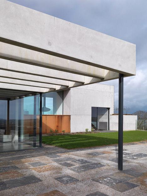 Modern Concrete Chateaus