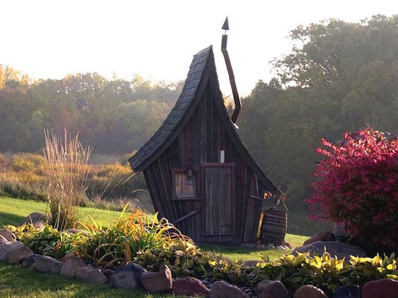 Whimsical Fairytale Cabins