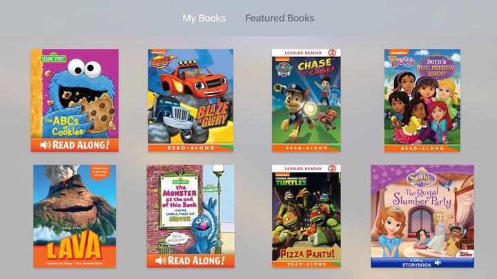 Televised Storybook Apps