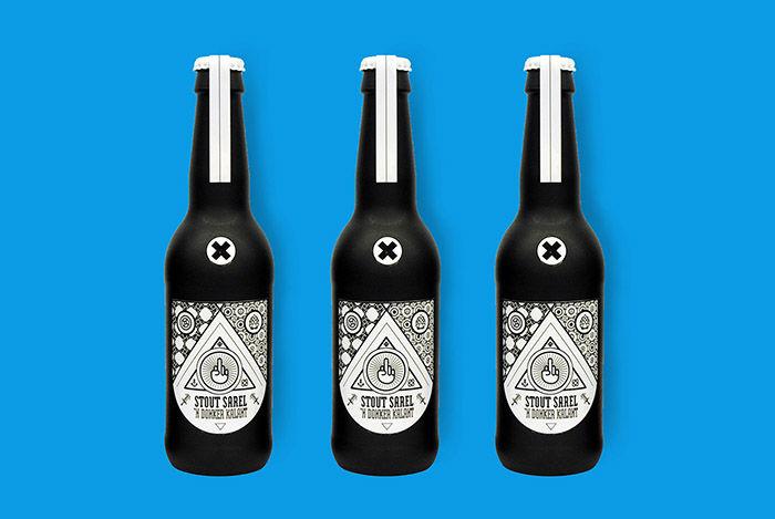 Rude Beer Branding
