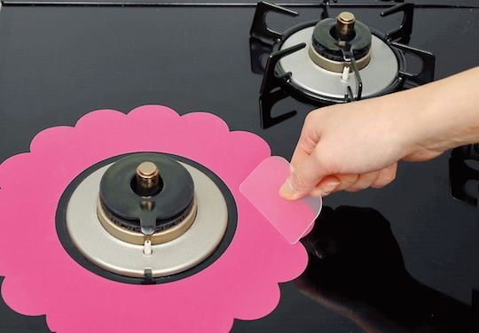 Floral Silicone Stove Protectors