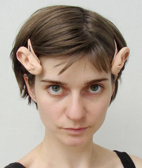 Human Ear Hair Pins