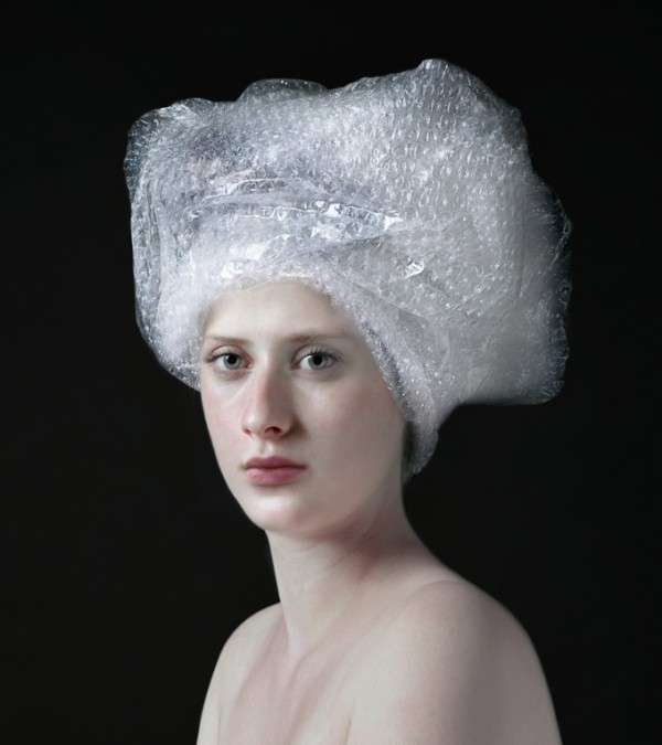 Ordinary Object-Infused Portraits