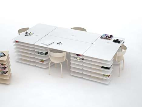 Hybrid Modular Desks