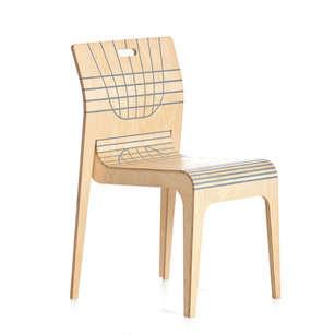 Curvaceous Flatpack Furniture