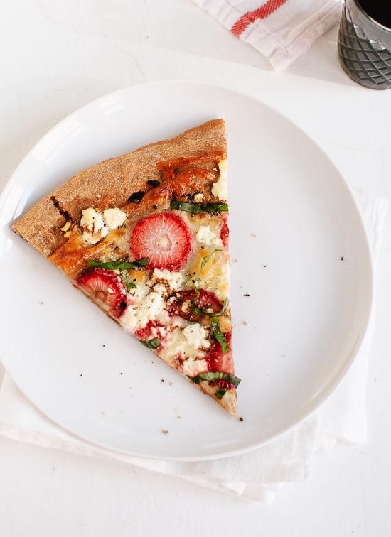 Strawberry Balsamic Pizzas