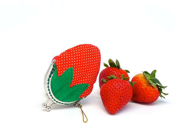 Fruity Cash Clutches