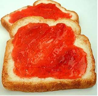 Strawberry Jam Toast Soap Bar