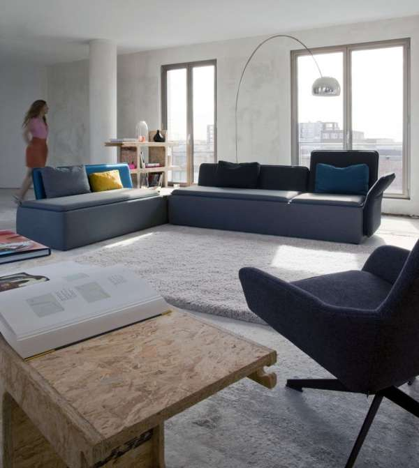 Adaptable Sinuous Seating