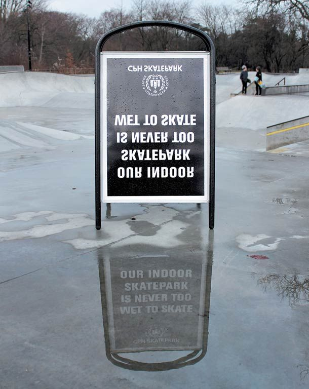 Cleverly Inverted Urban Ads