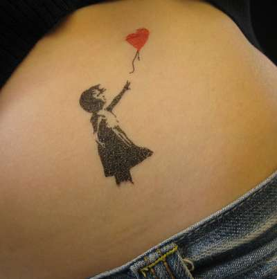Temporary Street Art Tattoos