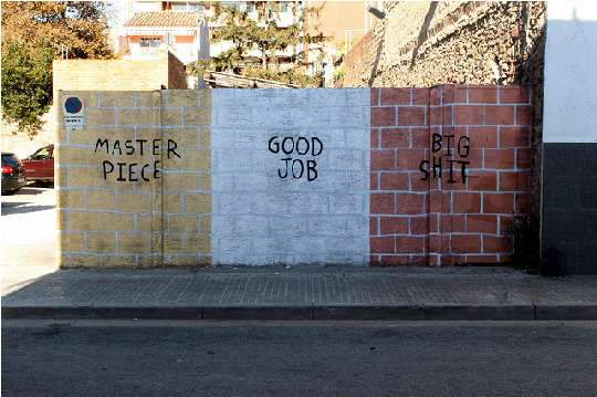 Sharply Sarcastic Street Art