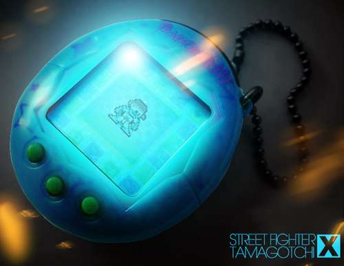 Street Fighter Tamagotchi