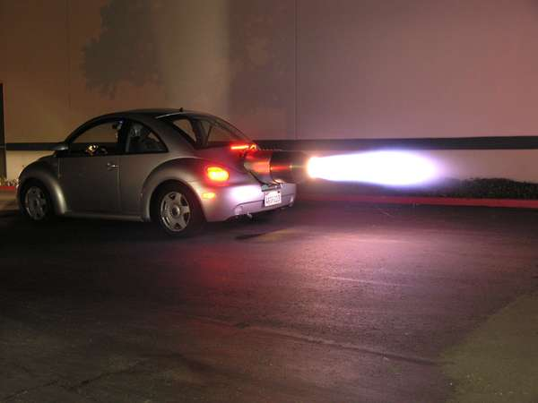 Street Legal Jet Powered Beetle