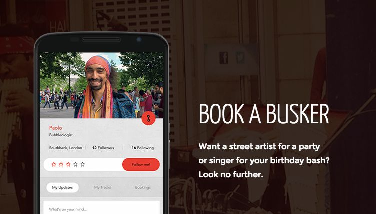 Busker-Tipping Apps