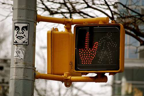 Profane Traffic Lights