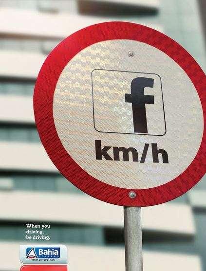 Social Media Street Sign Ads