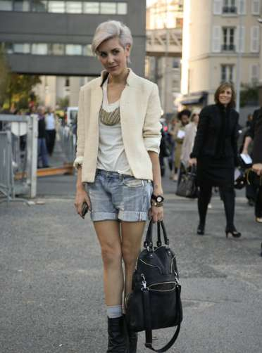 Jean Shorts & Blazers