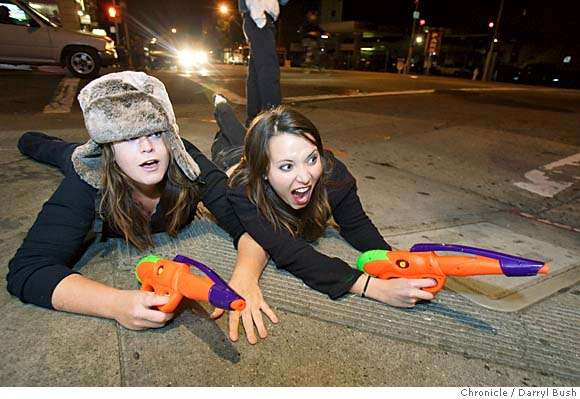 Street Wars Water Gun Assassination Game Hits London