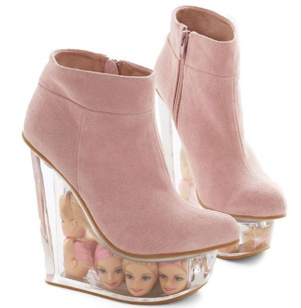 Decapitated Doll Shoes