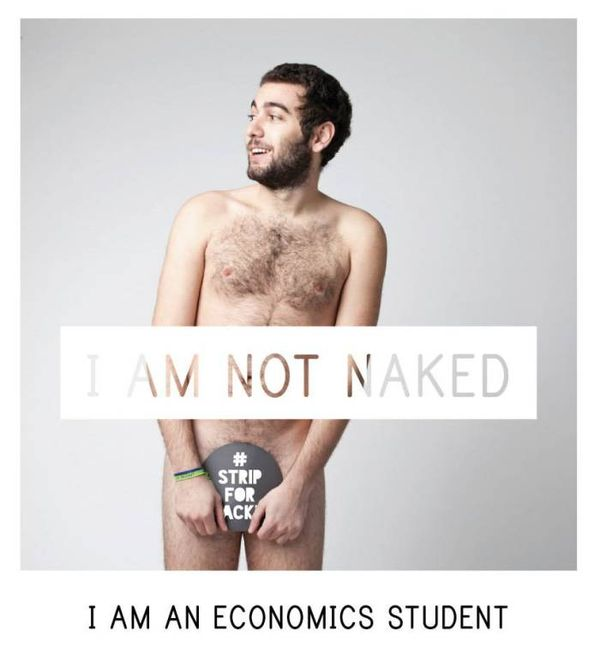 Stripped Statement Selfie Campaigns
