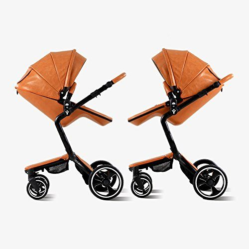 Convertible Leather Strollers