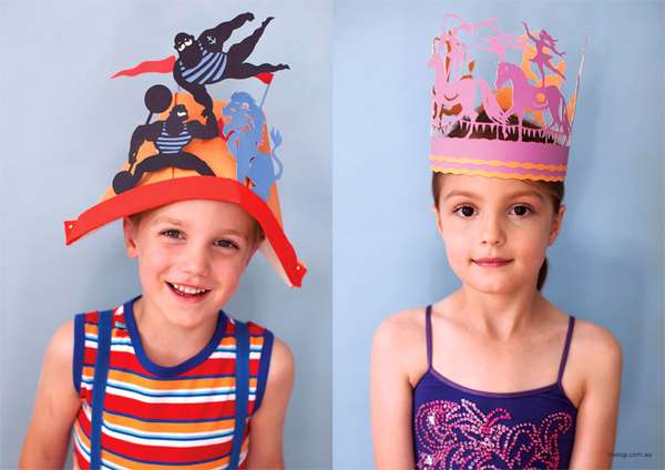 Chimerical Cardboard Crowns