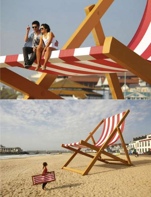 Humongous Beach Chairs
