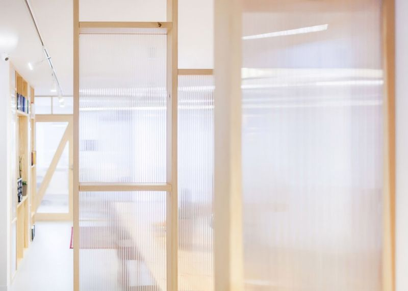 Semi-Transparent Studio Designs