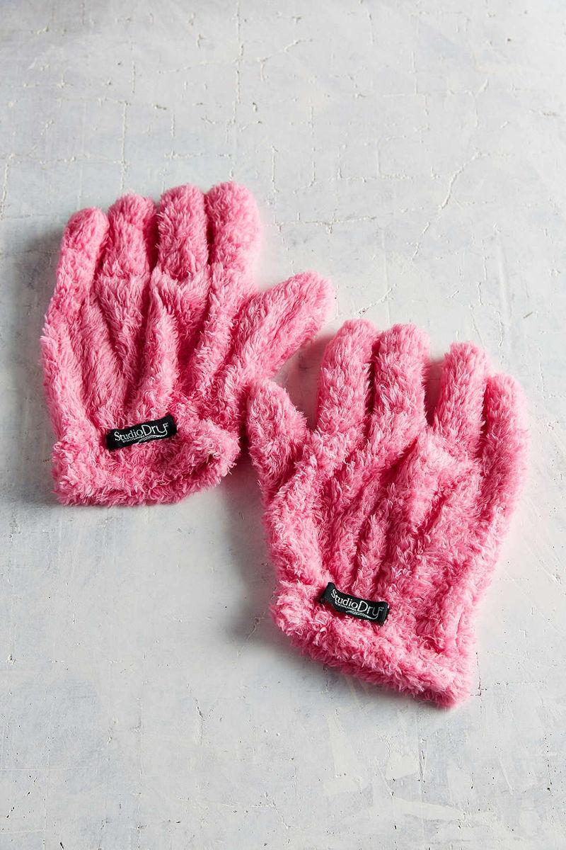 Hair-Drying Gloves