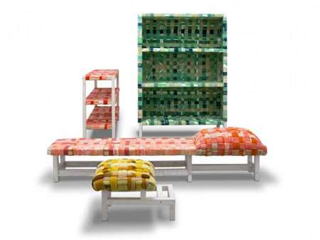 Discarded Fabric Furniture