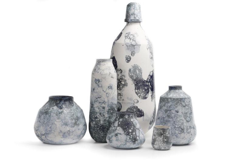 Bubble-Designed Vases