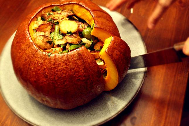 Stuffed Pumpkin Stews : stuffed pumpkin