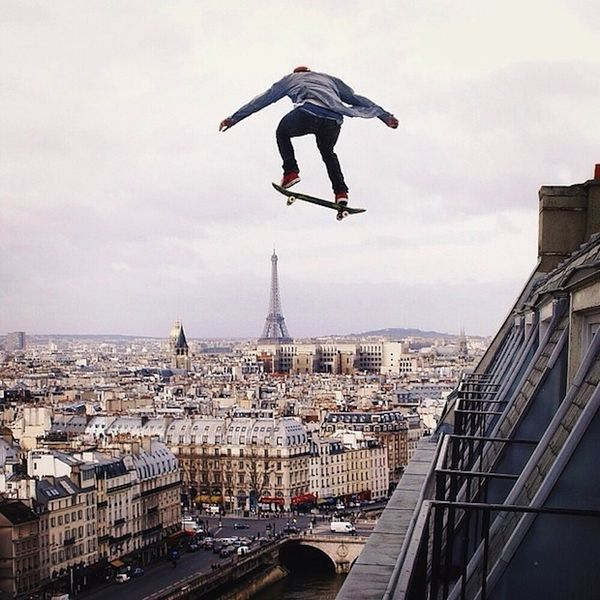 Manipulated Stuntman Photography